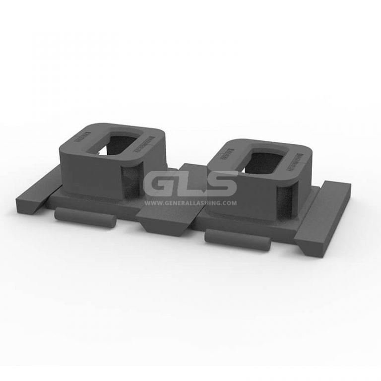 double sliding foundation AC-B2(D/L/279)