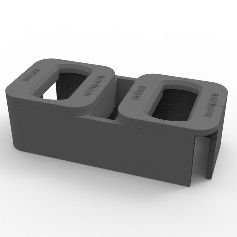 double raised foundation AC-B2/D