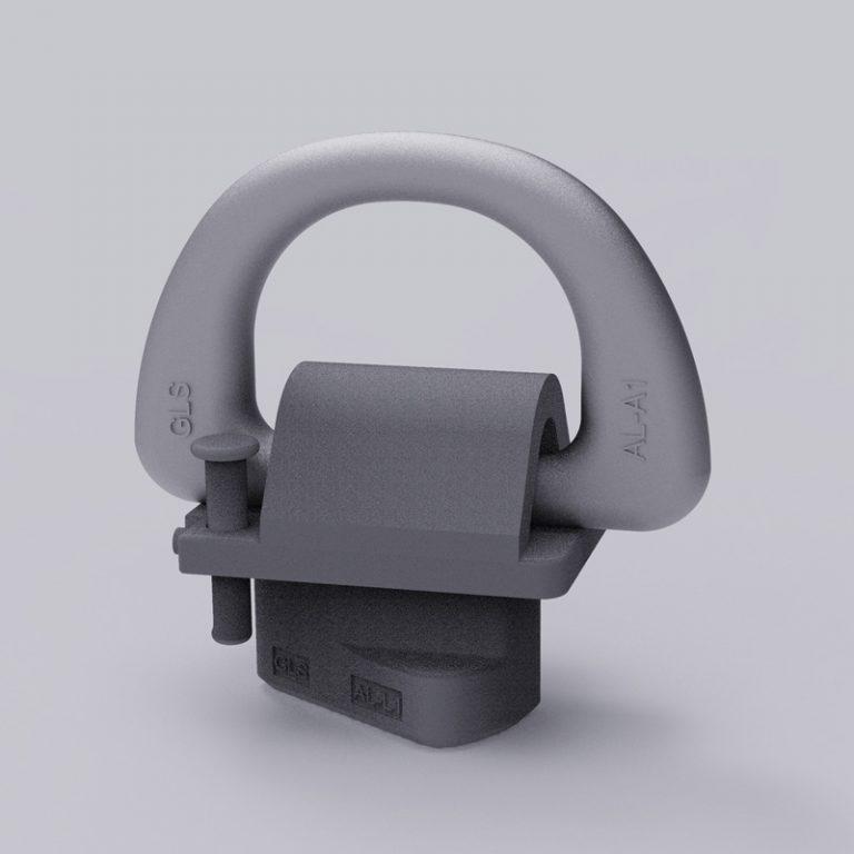 turnfoot d-ring 50ton AL-L1/50T
