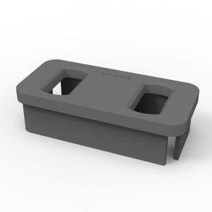 elongated double raised foundation AC-B2(D/279)