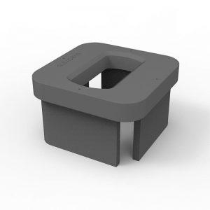 elongated single raised foundation AC-B1(B)